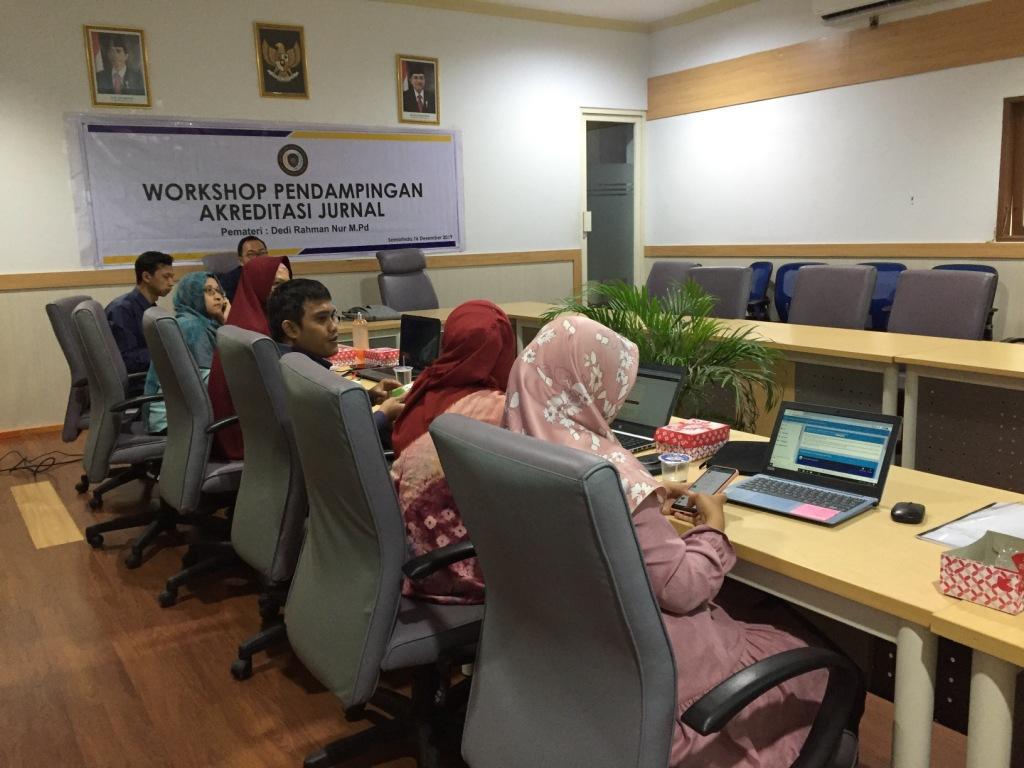 Workshop Pendampingan Akreditasi Jurnal