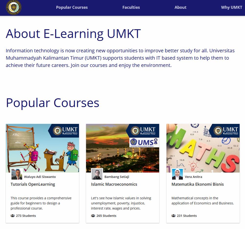 Perkuliahan Online dengan Open Learning